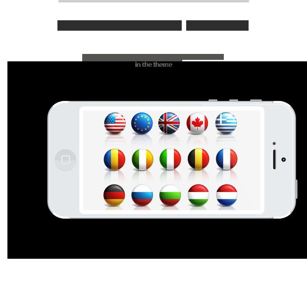 Multi Language-Mobileready-theme-layout