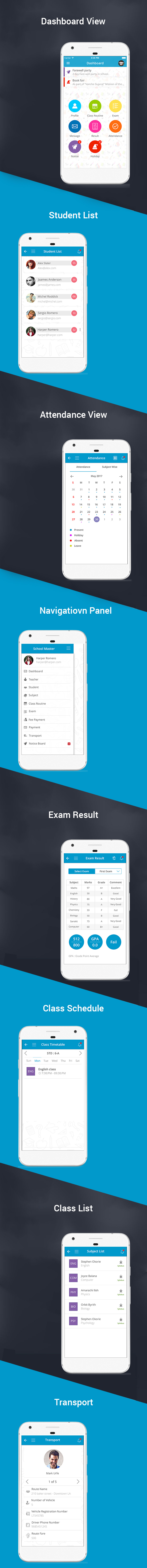 School Management System WordPress App
