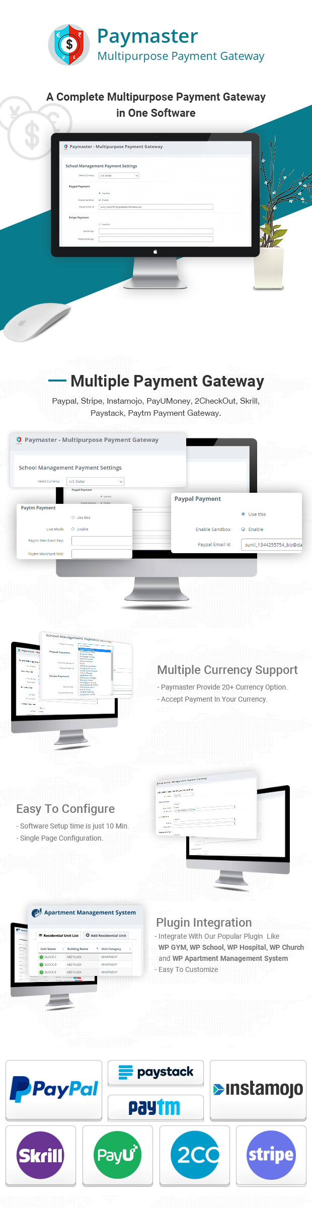 payment Gateway for wordpress