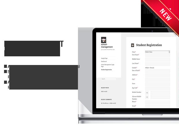 student registration School Management System