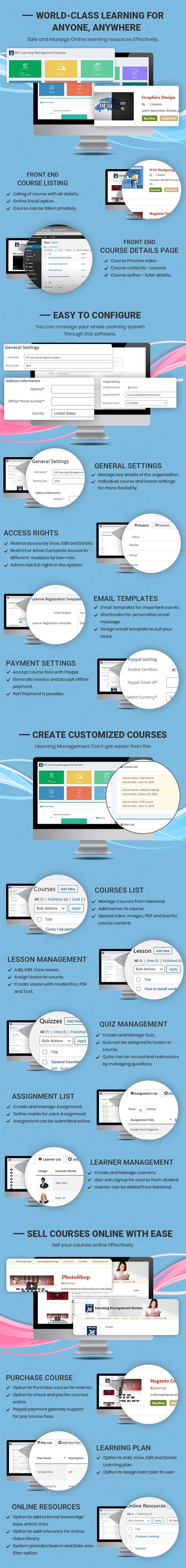 Sistema de gestão de aprendizagem
