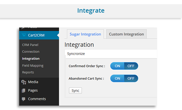 Cart2CRM - Woocommerce and SugarCRM integration - 3