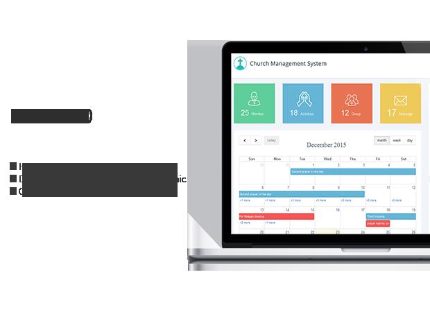 Sistema de gestión de la iglesia de Wordpres