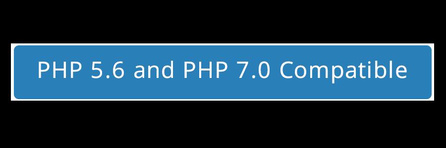 Compatible con php5.6 y php 7.0