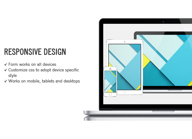 responsive contact form