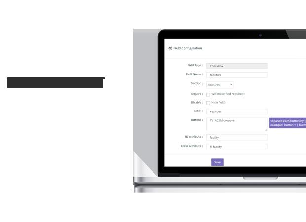 sistema de gestión de campo inmobiliario wordpress