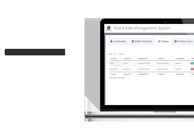 sistema de gestión de casos wordpress
